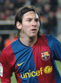 lionel messi in Uefa Champions league